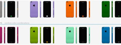 Colorware Spruces Up The Iphone by Iphone 5c Colorware Customization Brings On 58 Shades Of