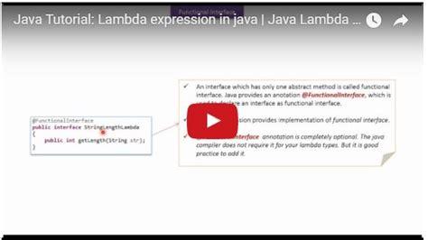 visitor pattern java lambda java tutorial lambda expression in java java lambda