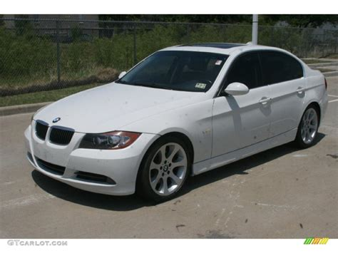 2006 bmw 3 series 330i alpine white 2006 bmw 3 series 330i sedan exterior photo