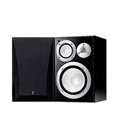 buy yamaha ns 6490 3 way bookshelf speaker black finish