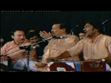 ali maula ali maula ustad bahauddin qawwal kunto maula ustad nusrat fateh ali khan live doovi