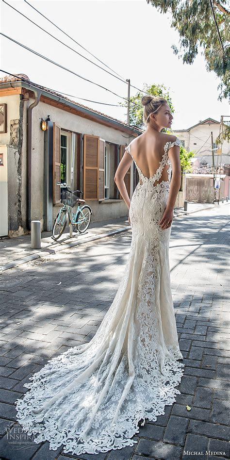 michal medina  wedding dresses gold couture bridal collection wedding inspirasi