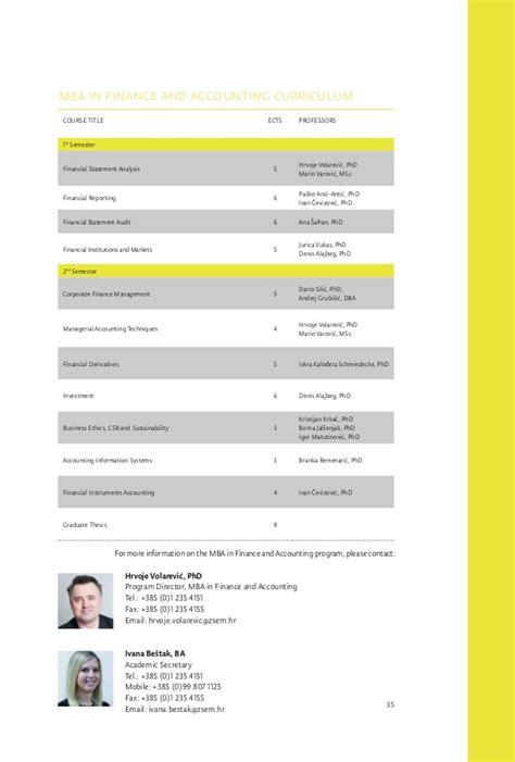 Mba Program In Oc by Mba Study Mba In Croatia