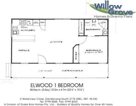 one bedroom granny flat floor plans 1 bedroom granny flat melbourne 1 bedroom relocatable homes