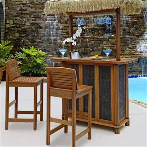 Outdoor bar furniture patio bars the home depot