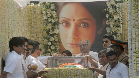 sridevi funeral sridevi cremated with state honours 10 things that