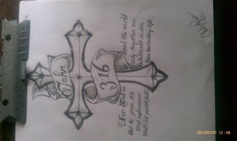 john 3 16 tattoo designs my work design 3 16 tattoos