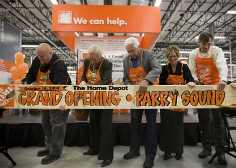 parrysound galleries home depot grand opening