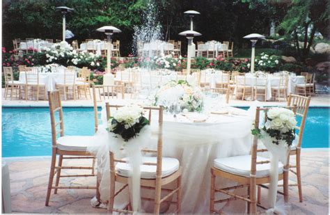 Backyard Wedding Reception Decoration Ideas Mystical Backyard Pool Wedding Ideas