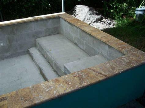 Poured Concrete Bathtub Best 25 Building A Swimming Pool Ideas On Pinterest