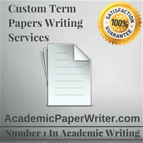 custom term paper writing services custom term paper results