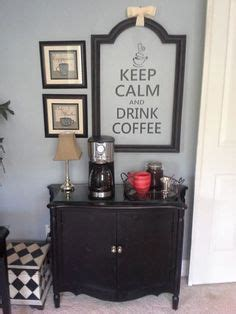 bedroom coffee station here s my coffee bar inspired by joanna on the fixer upper