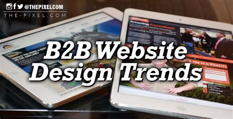 thepixel b2b website design trends you can t afford to