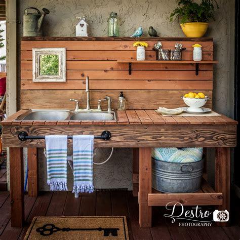 outdoor sink destro photography project destro