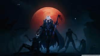 wow death knight blood elves hd desktop wallpaper high