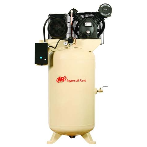ingersoll rand type 30 reciprocating 80 gal 5 hp electric 230 volt 3 phase air compressor