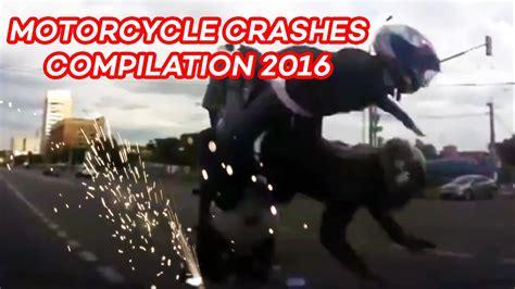 Watch Rage 2016 Motorcycle Crash Compilation Road Rage 2016 Hd Youtube