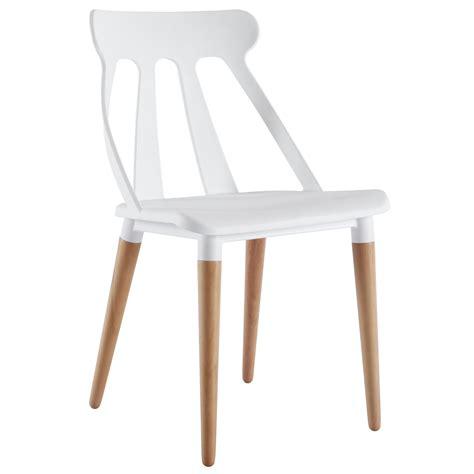 Chaises Salon Design by Salon Chaise Design Blanc Comforium