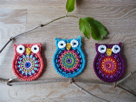 crochet owl motif pattern free owl big brother crochet pattern by aterg crochet