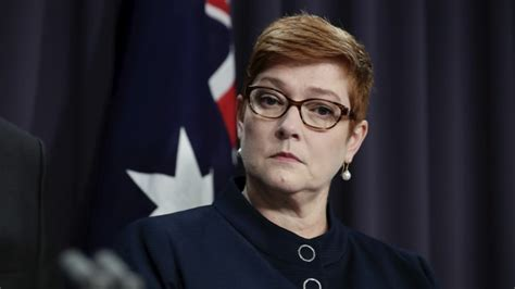marise payne retno israel whatsapp exchange with foreign minister marisa