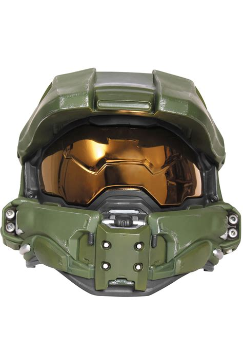How To Make A Master Chief Helmet Out Of Paper - master chief light up helmet for