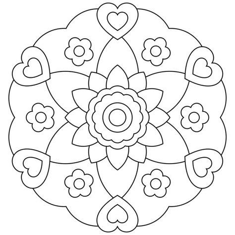 radial designs coloring pages mandalas gu 237 a con im 225 genes de m 225 ndalas para colorear