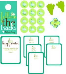 Easter Scavenger Hunt by 8 Cute And Free Easter Printables Herfamily Ie