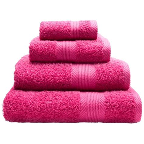 hot pink towels bathroom catherine lansfield home bath towel in hot pink next day