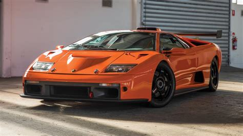 Lamborghini El Diablo This Racing Lamborghini Diablo Gtr Is A Bargain Top Gear