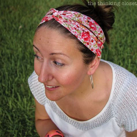turban bun tutorial quot sew easy quot turban headband video tutorial the thinking