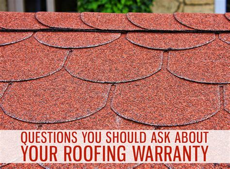 questions      roofing warranty