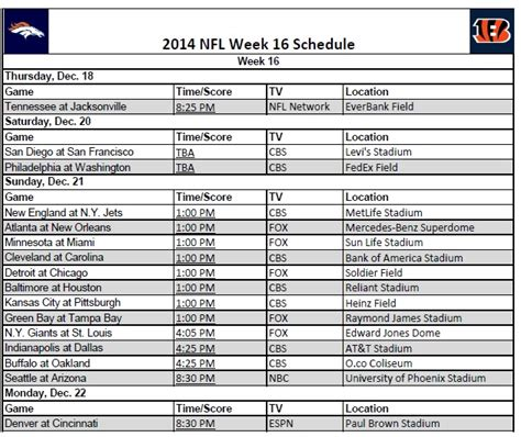 printable nfl monday night football schedule 2015 nfl playoff schedule espn espn the worldwide leader html