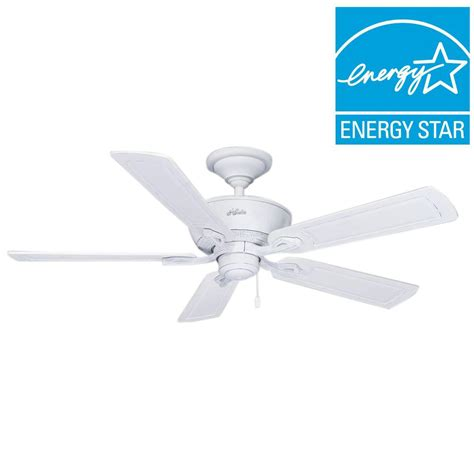 outdoor pedestal fans wet rated hunter caicos 52 in indoor outdoor cottage white wet