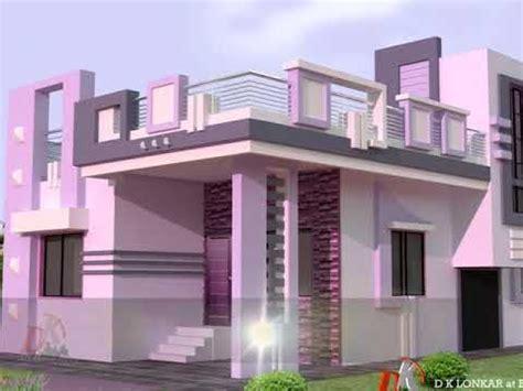 beautiful parapet wall design youtube duplex