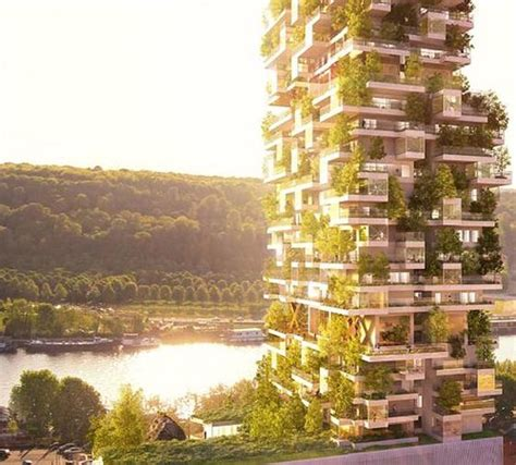 sustainable apartment design natural environment in high density housing futuristic news
