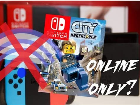 Switch Lego City Undercover 1 lego city undercover switch requires 13 gb patch