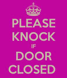 Knock The Door Sign free coloring pages of knock