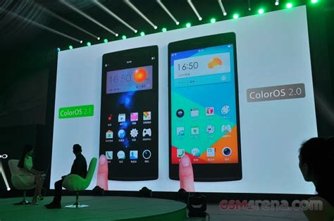 Custom Design For Oppo Find 7 oppo s new color os 2 1 is now official gsmarena news