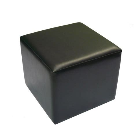 black cube ottoman office furniture hire elite ottoman cube black