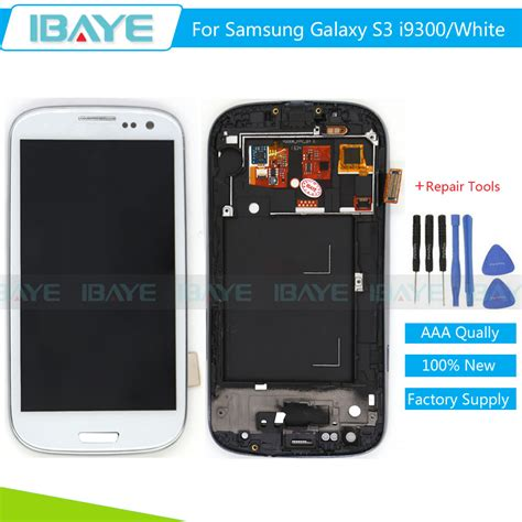Lcd Dan Touchscreen Samsung S3 white for samsung galaxy s3 i9300 i9305 lcd display touch