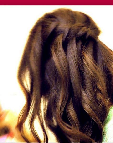 fishtail braid history waterfall fishtail french braid half up hair tutorial