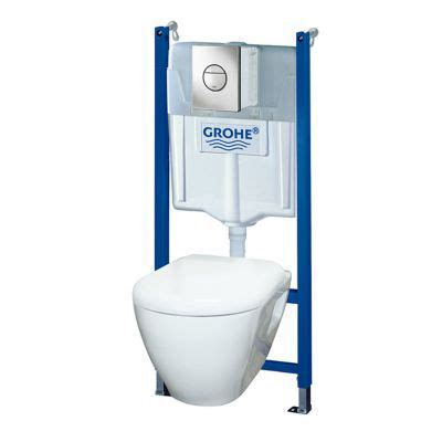 Wc Suspendu Grohe Solido 2783 by Pack Wc Grohe Solido Castorama
