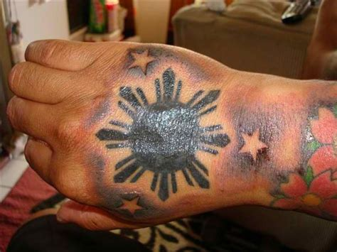 3 stars and a sun tattoo design 50 tattoos for top designs for