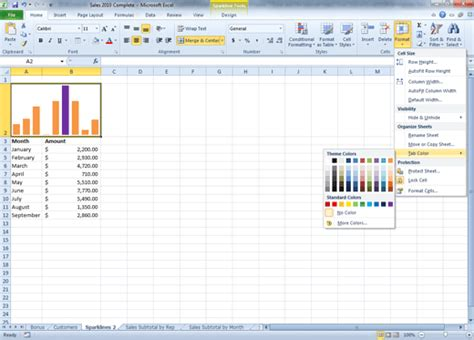 excel tutorial 2010 intermediate comma training page 187