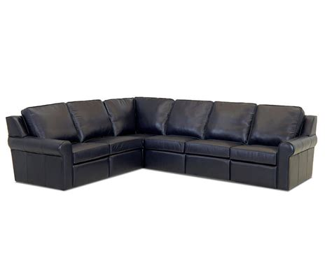 power recliner sectional comfort dsign east village ii power reclining sectional