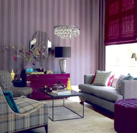 Purple Living Room Decor Light Purple Sitting Room Home Decorating Ideas