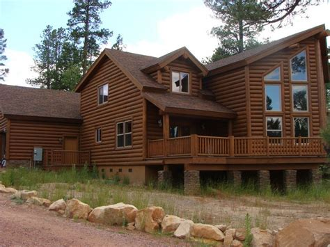 avalon log homes log home foundation design