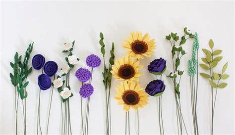 ragam kreasi bunga cantik  kain flanel fashion