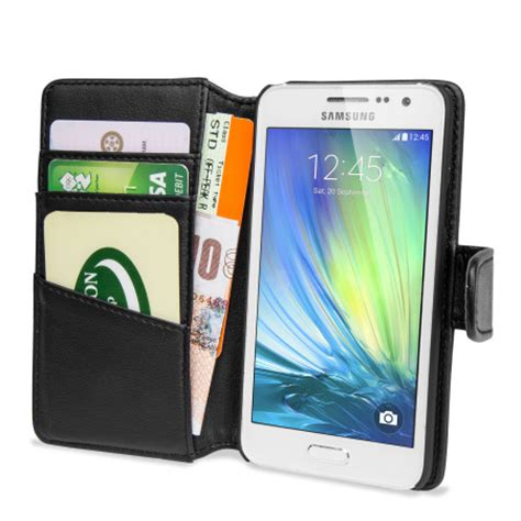 Samsung A7 2015 Caseme Wallet With Premium Leather Flipcover olixar premium real leather samsung galaxy a3 2015 wallet black