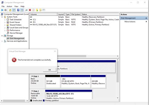 solved not possible to format hard drive to exfat can t format the 2nd internal hard disk drive solved